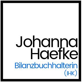 Visitenkarte Johanna Haefke